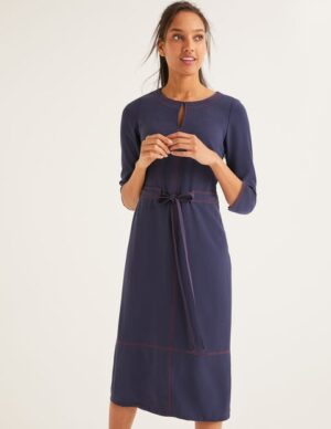 Addie Dress Navy Women Boden, Navy