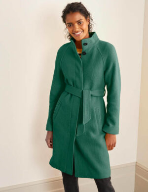 Cartwright Coat Green Women Boden, Green