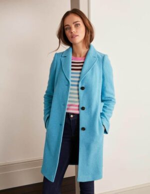 Knight Coat Blue Women Boden, Blue