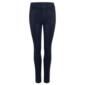 Maria High Rise Skinny Coated Jeans - Electric