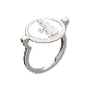 Queen of Revelry Coin Ring - Silver