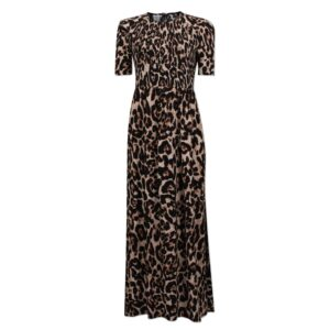Adamaris Dress - Wild Leopard