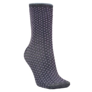Dina Small Dots Socks - Purple