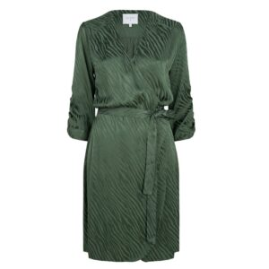Hayden Wrap Dress - Soft Moss