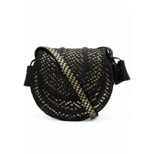 D'Souza Cross Body Bag - Black Snake
