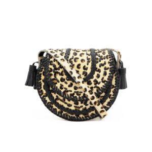 D'Souza Cross Body Bag - Leopard