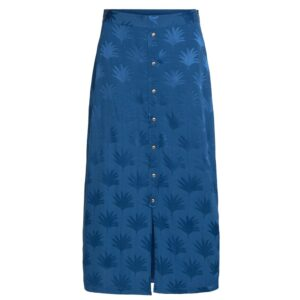 Jacky Skirt - Fan Blue