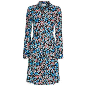 Hayley Printed Dress - Leopard Blossom