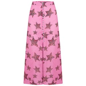Moulton Midi Skirt - Leopard Star Mermaid