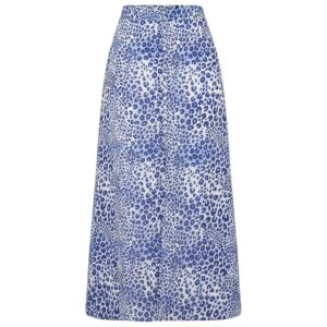 Moulton Midi Skirt - Cheetah Sea