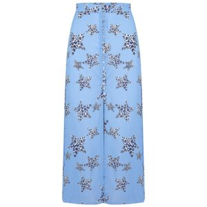 Moulton Midi Skirt - Leopard Star Sea