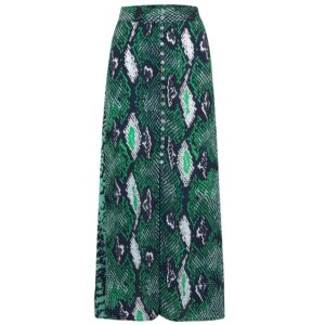 Moulton Midi Skirt - Python Jungle