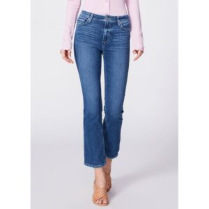 Claudine Ankle Flare Jeans - Roadie Distressed