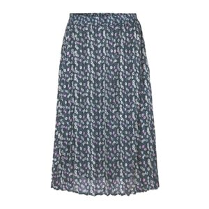 Harvest 4 Skirt - Blue Floral