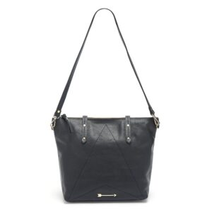 Carpenter Leather Bag - Black