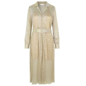 Juliet Metallic Dress - Shimmer