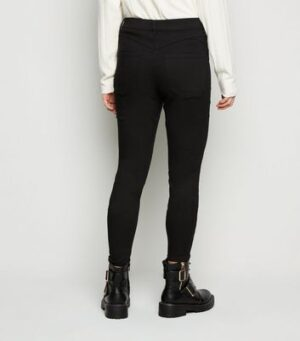 Petite Black 'Lift & Shape' Jeggings New Look