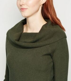 Apricot Green Roll Neck Long Sleeve Jumper New Look