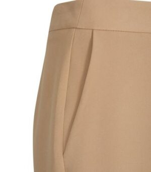 Camel Wide Leg Suit Trousers New Look