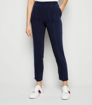 Navy Slim Leg Suit Trousers New Look