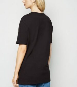 Black Oversized T-Shirt New Look