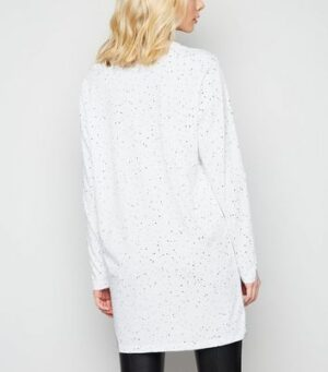 Noisy May White Zodiac Long Sleeve Top New Look
