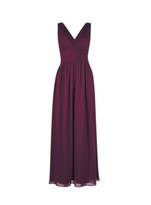 Womens Showcase Tall Oxblood 'Darcy' Maxi Dress - Red, Red
