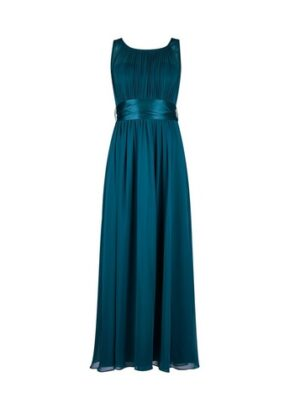 Womens Showcase Petite Forest Green 'Natalie' Maxi Dress, Green