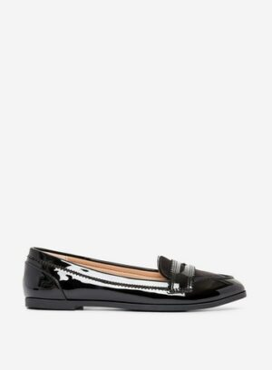 Womens Black 'Loyle' Loafers, Black