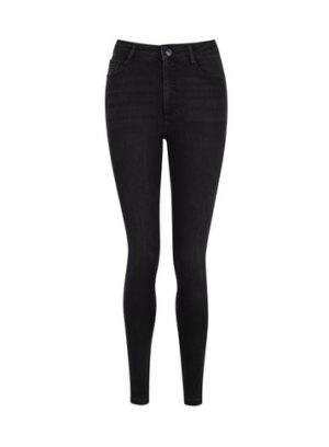 Womens Black 'Alex' Authentic Denim Skinny Jeans, Black