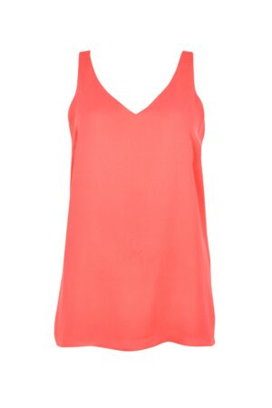 **Tall Pink V-Neck Camisole Top, Magenta