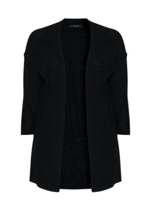 Black Knitted Cardigan, Black