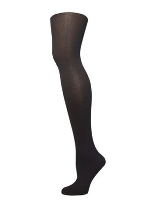 Black 100 Denier Temperature Control Tights, Black