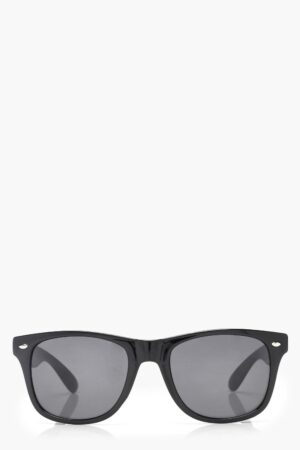 Womens Square Frame Sunglasses - Black - One Size, Black