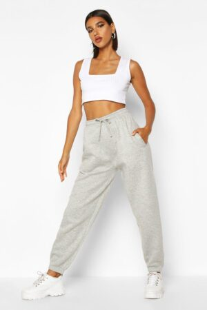 Womens Oversized Jogger - Grey - M, Grey